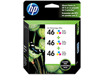 HP 46 - 3-pack - tricolor