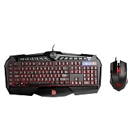 Tt eSPORTS Challenger Prime RGB Combo - Keyboard and mouse set - USB