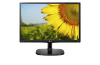 LG 20MP38A - LED-backlit LCD monitor - 19.5""