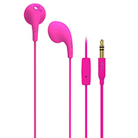 iLuv - Ear-bud - Mic and Remote Pink