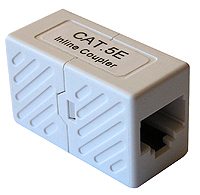 RedAc Cople RJ45-RJ45 CAT5e Blanco NEXXT