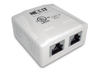 Nexxt Solutions - Surface mount box - 2 ports