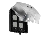 Nexxt Solutions Infrastructure - Surface mount box - Weatherproof 2-Gang