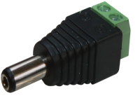 Provision-isr Connectors PR-C08 - Power adapter - terminal block (screw) (M) to DC jack (M)