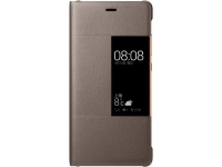 Huawei View Flip Cover - Case - Brown