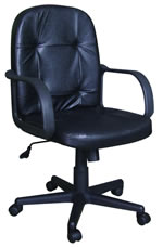 Executive Chair w/Arm Rest (Black)