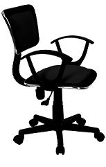 Manager Chair (Roma) - Black