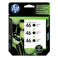 HP 46 - 3-pack - 26 ml