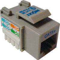 Jack RJ45 CAT5e Tipo 110 Gris 22-26AWG NXT