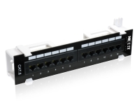 Nexxt Solutions - Patch Panel Vertical - 12 Ports- Cat6