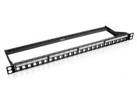 Nexxt Solutions Infrastructure - Patch panel - Cold-rolled steel