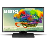 Monitor BenQ Profesional BL2420PT 23.8 in D-Port VGA HDMI D-sub DVI-DL USBx2 Audifonos in 2 bocinas