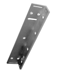 "S-A ""U"" Bracket for glass (9~13 mm) doors, for use with E-941SA-600, E-941SA-600PQ, E-941DA-600Q and E-941DA-600PQ."