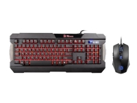 Thermaltake  - eSPORTS COMMANDER COMBO (Multi Light) - Keyboard and mouse set