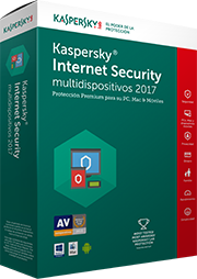 SW Kaspersky Internet Security Multidevice 2017 3D+1 1año