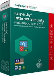 SW Kaspersky Internet Security Multidevice 2017 5D+1 1año