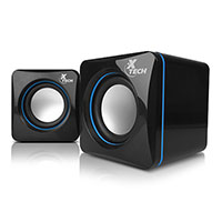 Bocinas Xtech 2.0 Canales 6watts USB 3.5mm