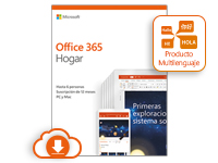 Microsoft Office 365 Home - Subscription license (1 year) - 5 phones, 5 PCs/MACs, 5 tablets, 1 TB cloud storage space