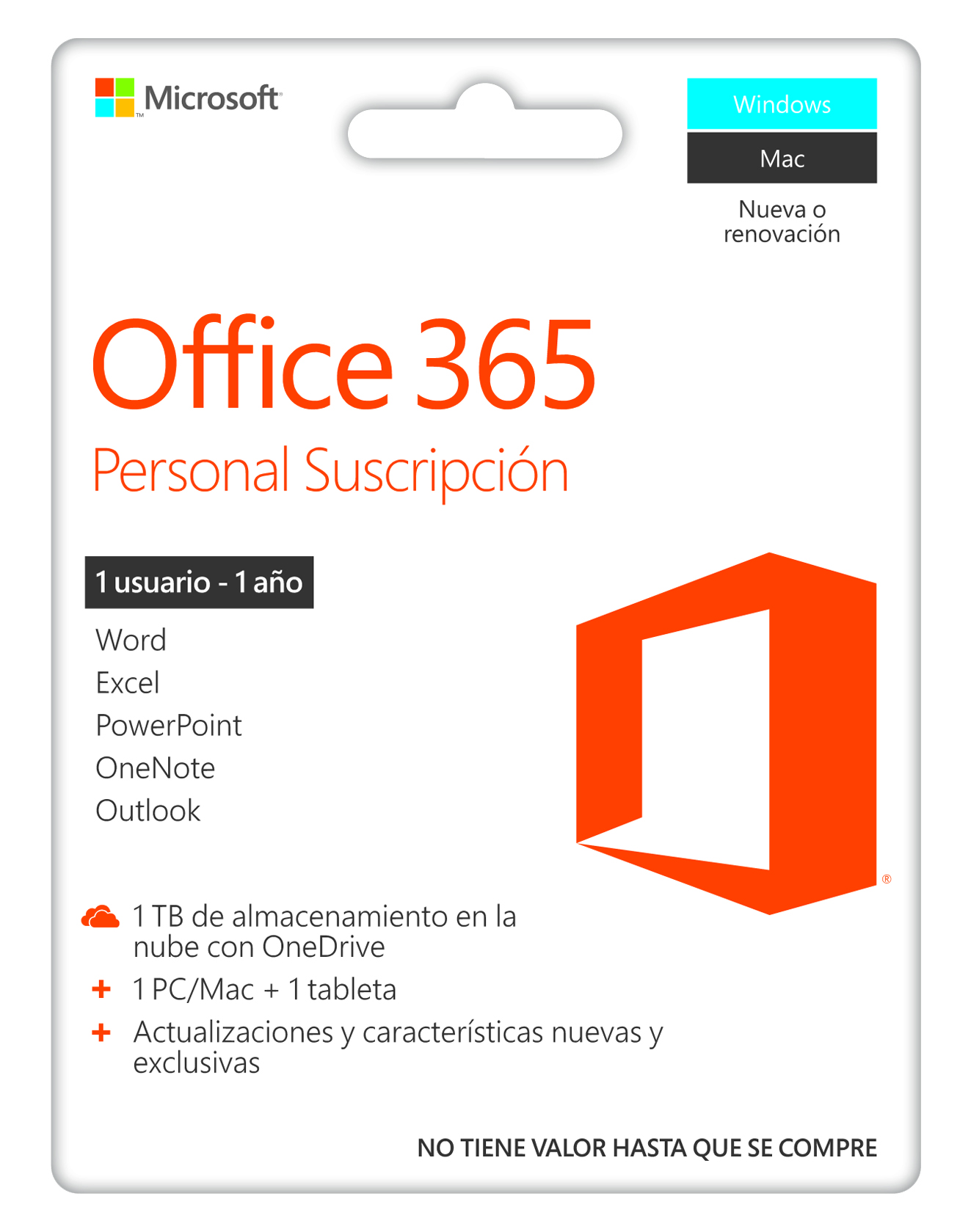 Microsoft 365 Personal - Annual subscription - Windows