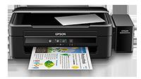 Epson EcoTank L380 - Multifunction printer - color