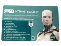 SW ESET  Internet Security 1 Usuario 12 Meses
