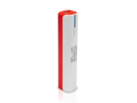 Klip Xtreme - Battery charger - 2600mAh-USB-Torch-RD