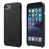 PureGear SoftTek Solid Black IPhone 7/6s/6