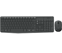 Logitech - Keypad and mouse set - Wireless